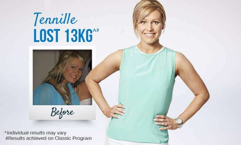 Meet Tennille and see her Jenny Craig success