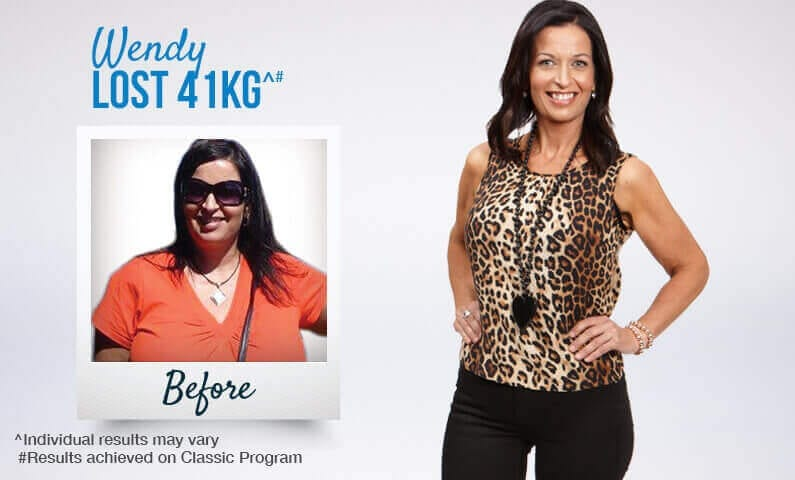 See how Wendy reached her goals with Jenny Craig