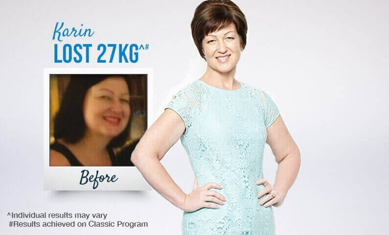 Find out how Karin reached her goals with Jenny Craig