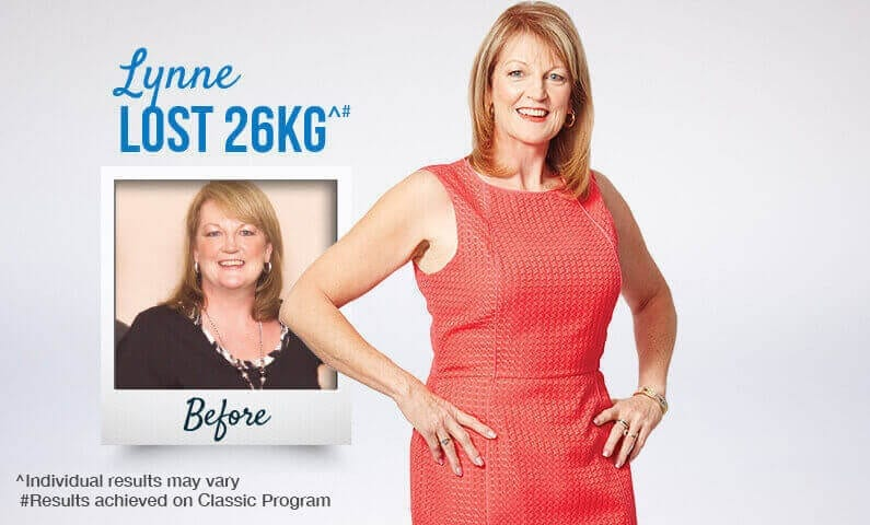 Meet Lynne and see how she reached her goals with Jenny Craig
