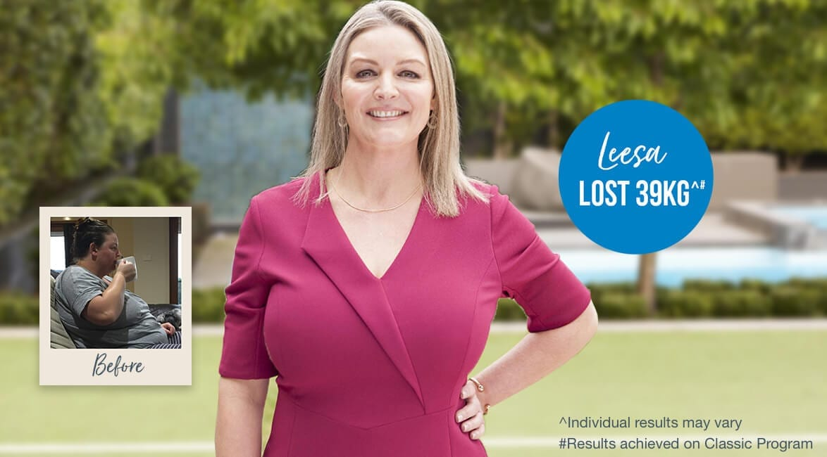 Meet Leesa and hear how she reached her goals with Jenny Craig