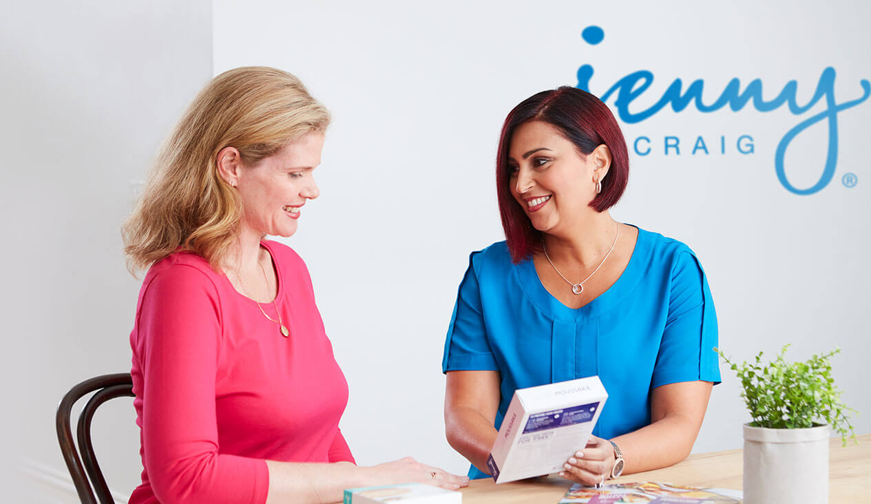 Jenny Craig consultants helped Angie lose weight