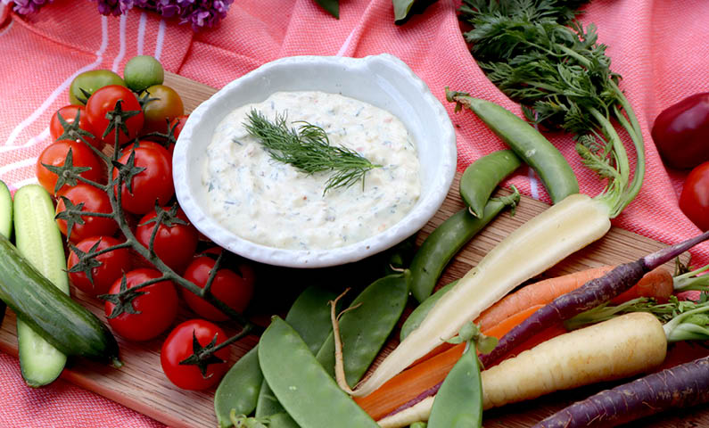 Creamy Vegetable Dip