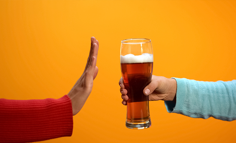 Reducing alcohol consumption to improve weight loss and BMI