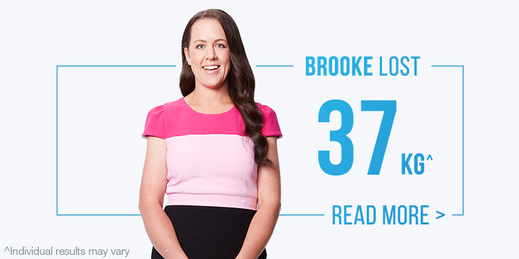 Brooke weight loss before and after