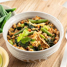 Lose weight with healthy nasi goreng